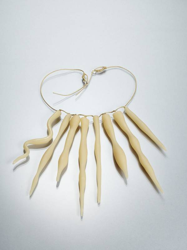 SOLAR NECKLACE FROM 'IVORY TOWER' SERIES