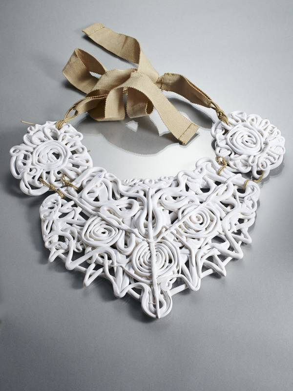 HEART OF SPADES NECKLACE FROM 'FIFTY SHADES OF WHITE' SERIES